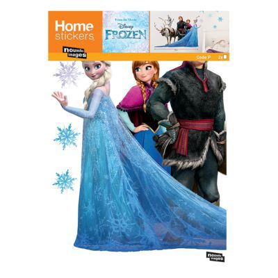 Sticker Disney Anna/ Elsa Reine des Neiges