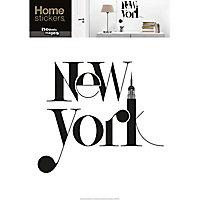 Stickers NYC typographie 49 x 69 cm