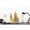 Stickers Paris NYC 49 x 69 cm