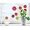 Stickers Fleurs 3D 24 x 36 cm