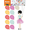 Stickers Ballons colorés 49 x 69 cm