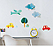 Stickers City kids 3D 24 x 36 cm