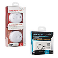 2 détecteurs de fumée Original + monoxyde de carbone Access