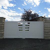 Portail pvc Marville 300 cm
