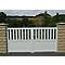 Portail coulissant PVC Naussac L.3 m