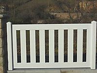 Clôture PVC Naussac 150 x h.80 cm