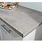 Plan de travail effet métal hydrofuge 320 x 64 cm ép. 28 mm (vendu à la pièce)