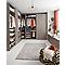 Porte de dressing chêne gris Darwin 180,8 x 37,5 cm