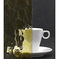 Verre Monument Ocean jaune 5mm, le m²