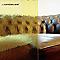 Verre Cathédrale martelé jaune 4mm, le m²