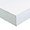 Plan de travail sur mesure blanc Korlam 58 mm <650