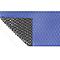Bâche à bulles été bleue noir bordée 4 côtés (vendu au m²)