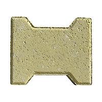 Pavé H sable 19,8 x 16,5 cm, ép.4,5 cm