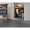 Revêtement sol PVC Texline Dune gris anthracite 4m (vendu à la coupe)