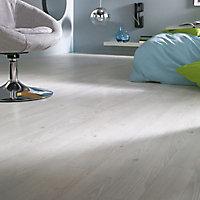 Revêtement sol PVC Design effet pin blanc 4m (vendu au m²)