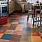 Revêtement sol PVC Design Latina Multicolor 4m (vendu à la coupe)