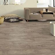 Revêtement sol PVC Oldmelese Design marron 4m (vendu à la coupe)