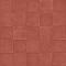 Revêtement sol PVC Exclusive Baldosa rouge 4 m (vendu à la coupe)