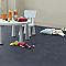 Revêtement sol PVC Exclusive coton azur 4 m (vendu à la coupe)