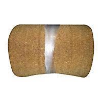 Paillasson coco écru 40 cm à la découpe