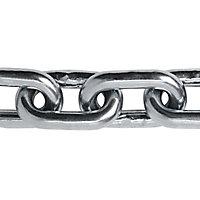 Chaîne maille longue Diall ø5 mm, vendue au mètre linéaire