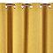 Rideau occultant Colours Barcelona jaune 140 x 240 cm