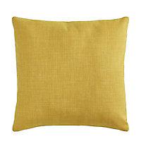 Coussin Colours Valencia jaune 45 x 45 cm