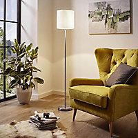 Lampadaire Colours Finch blanc H.157 cm