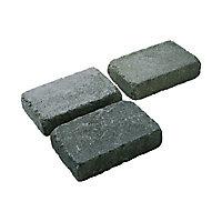 Pavé BLOOMA Antinéa nuancé gris 13,3 x 20,3 cm, ép.5 cm
