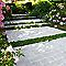 Pavé Blooma Antinéa ton pierre 13,3 x 20,3 cm, ép.5 cm (vendu au m²)