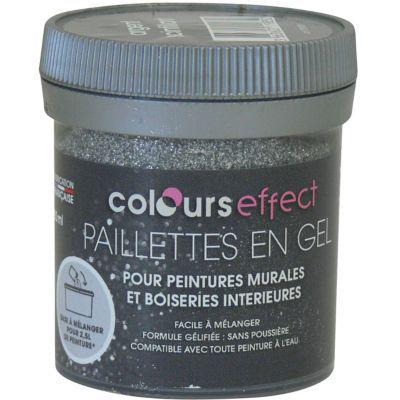 Gel à Effet Paillettes COLOURS 0,08L | Castorama.