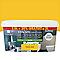 Peinture multi-supp. cuisine/sdb poivron jaune sat 2,5L+20%
