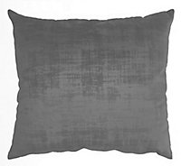 Coussin Dickens gris 50 x 50 cm