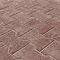Pavé H rouge 20 x 17 cm, ép.5 cm