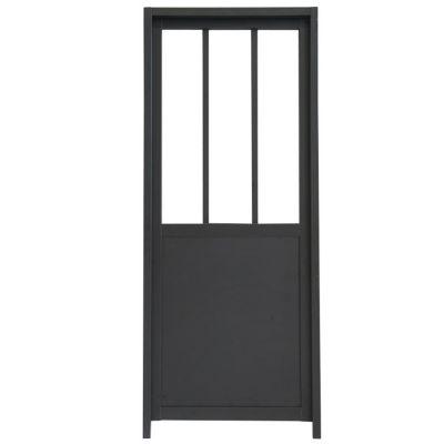 fabulous bloc porte atelier noir cm with porte dressing castorama. Black Bedroom Furniture Sets. Home Design Ideas