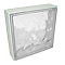 Pavé de verre incolore 24 x 24 cm