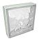 Pavé de verre incolore 24 x 24 cm, ép.80 mm