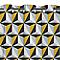 Rideaux Arlequin jaune 140 x 240 cm