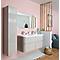 Colonne de salle de bains 1 porte grège Cooke&Lewis Voluto 35 cm