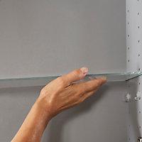 Tablette en verreImandra compatible avec armoire murale 40cm P.11 cm