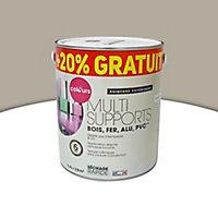 Peinture extérieure multi-supports COLOURS taupe 2L + 20% gratuit