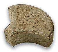Pavé Ecaille jaune 20 x 15,8 cm, ép.4,2 cm