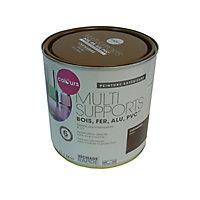 Peinture multi-supports extérieur Colours châtaignier satin 2L