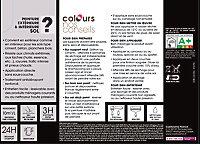 Peinture sol COLOURS Premium rouge cardinal satin 0,5L