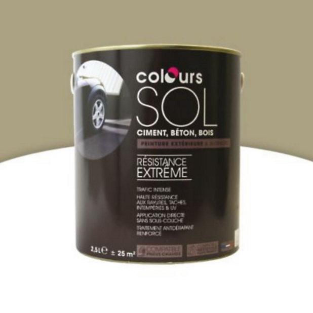 Peinture Sol Colours Premium Pierre Satin 2 5l Castorama
