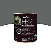 Peinture fer COLOURS granit satin 0,5L