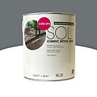 Peinture sol intérieur/extérieur Colours béton satin 2,5L