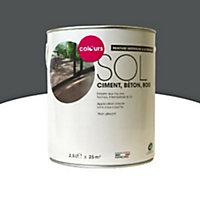Peinture sol intérieur/extérieur Colours macadam satin 2,5L