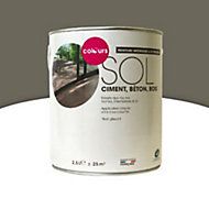 Peinture sol intérieur/extérieur Colours taupe satin 2,5L