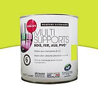 Peinture multi-supports extérieur COLOURS vert anis mat 0,5L